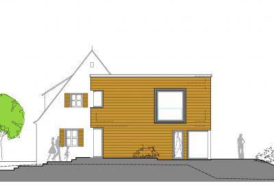 Umbau Nürnberg – Erweiterung Wohnhaus Langwasser