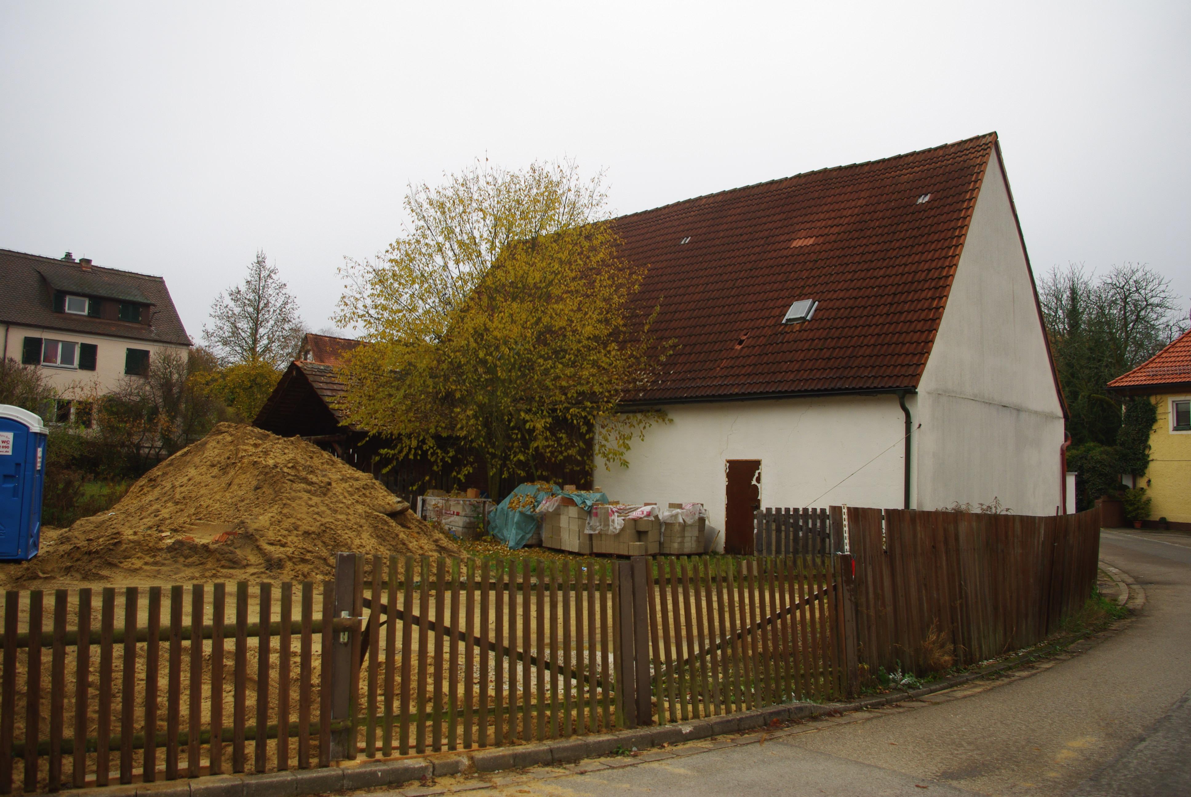 Bestandsgebäude Kindergarten vor Umbau und Sanierung