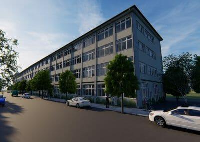 Schulhaussanierung Muggenhoferstraße